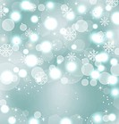 Christmas cute wallpaper with sparkle, snowflakes, stars