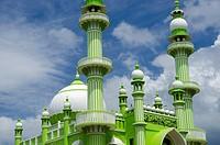 Vizhinjam mosque near Kovalam, Kerala, South India.