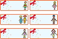 Christmas Gift Tags - Children