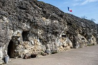 First World War One Fort de Vaux at Vaux-Devant-Damloup, Lorraine, Battle of Verdun, France