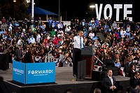 President Barack Obama Campaigns in Las Vegas, Nevada, October 24, 2031
