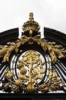 Golden entrance gate
