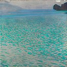 Lake Attersee, 1901. Found in the collection of the Leopold Museum, Vienna.
