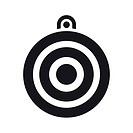 Vector illustration of isolated target icon