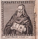 Roger Bacon (From: The order of the Inspirati), 1659. From a private collection.