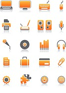 Set of 20 Computer Icons