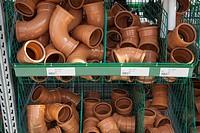 underground drain pipe fittings in builders merchants.