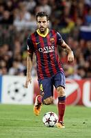 FC Barcelona. Cesc Fabregas in action.