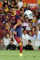 FC Barcelona. Alexis Sánchez in action.