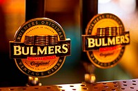 Bulmers taps - Dublin, Irland, 29/08/2005