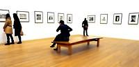 London, England, UK. Tate Modern Gallery - photographic exhibition, heavy digital manipulation.