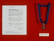 Order of merit / Christopher Hinton