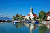 Germany, Wasserburg at Lake Constance