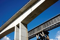 Railway bridge, Ormaiztegi, Goierri, Gipuzkoa, Spain.