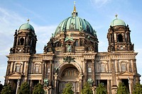 Berliner Dom Cathedral Church Dome; Berlin; Germany;.