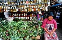 herbal, mercado ver o peso, belem, state of para, amazon region, brazil, south america.