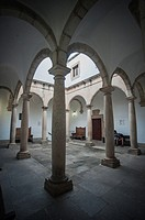 Museum, Cloister, Palacio de las Veletas, Cáceres, Spain