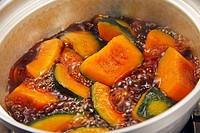 Simmered Pumpkin Cucurbita