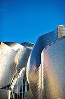 Guggenheim museum, Bilbao, Euskadi, Biscay, Bizkaia, Basque Country, Spain, Europe.