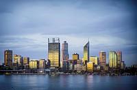 City skyline, Perth, Western Australia, Australia