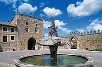Monastero di Santa Maria Reale di Las Huelgas (12th century), Burgos (The Way of St James of Compostela, Unesco World Heritage List, 1993), Castile an...