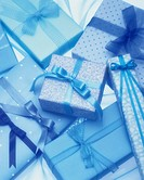 Blue presents