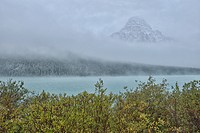 North America, Canada, Alberta, Banff, National Park, landscape, autumn, fall, nature, Waterfowl Lake, lake, Icefield Parkway, Rockies, Rocky Mountain...
