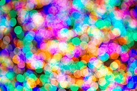 Multi_colored Light Spots