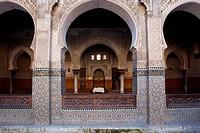 The Bounania medersa, Fez Morocco