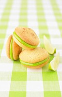Vanilla-lime Whoopies