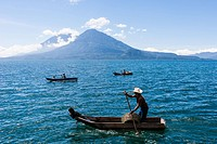 Atitlán lake, Guatemala.