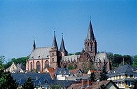 Germany, Oppenheim : Katharinenchurch