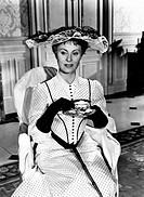 Michèle Morgan in 'The grand maneuver'. The French actress Michèle Morgan (Simone Renée Roussel) acting in 'The grand maneuver'. 1955