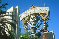 Hotel Treasure Island in Las Vegas (Nevada, USA)