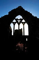 13th Century Dominican Abbey, Athenry, County Galway, Ireland.
