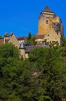 Castelnaud Castle, Castelnaud la Chapelle, Dordogne valley, Périgord Noir, Aquitaine, France