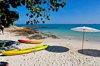 Ao Sangthian Beach on Ko Samet Island, Thailand.