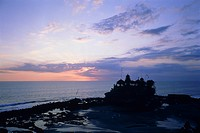 Tanah Lot Temple on Bali, Indonesia
