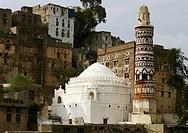 Qubbat Bayt az-Zum mosque, in Jibla, Yemen