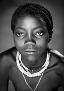 Mucawana Tribe Girl, Ruacana, Namibia.
