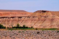 Southern Morocco landscape, Zagora, Morocco.