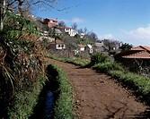 Portugal, Madeira, Levada, Bewaesserungskanal fuer die Landwirtschaft, Portugal, Madeira, levada, watering canal for the agriculture - , Madeira, Port...