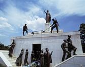 Zypern, CY-Nicosia, Freiheitsdenkmal Cyprus, CY-Nicosia, liberty monument, memorial - Nicosia, Cyprus, 01/01/2014