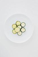 Dried zucchini