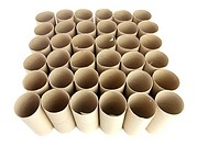 Toilet roll tubes