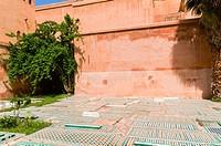 Saadian tombs, Marrakech, Morocco, North Africa, Africa.