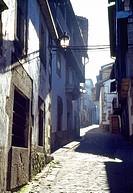 Street. Candelario, Salamanca province, Castilla Leon, Spain.