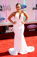 Adrienne Bailon - Los Angeles/California/United States - 14TH ANNUAL BET AWARDS: ARRIVALS