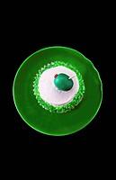 A martini cupcake