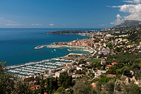 Menton and Cap Martin, Provence-Alpes-Cote d'Azur, French Riviera, France, Mediterranean, Europe
